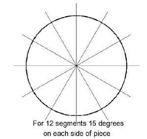 how to make circle segments in fireworks